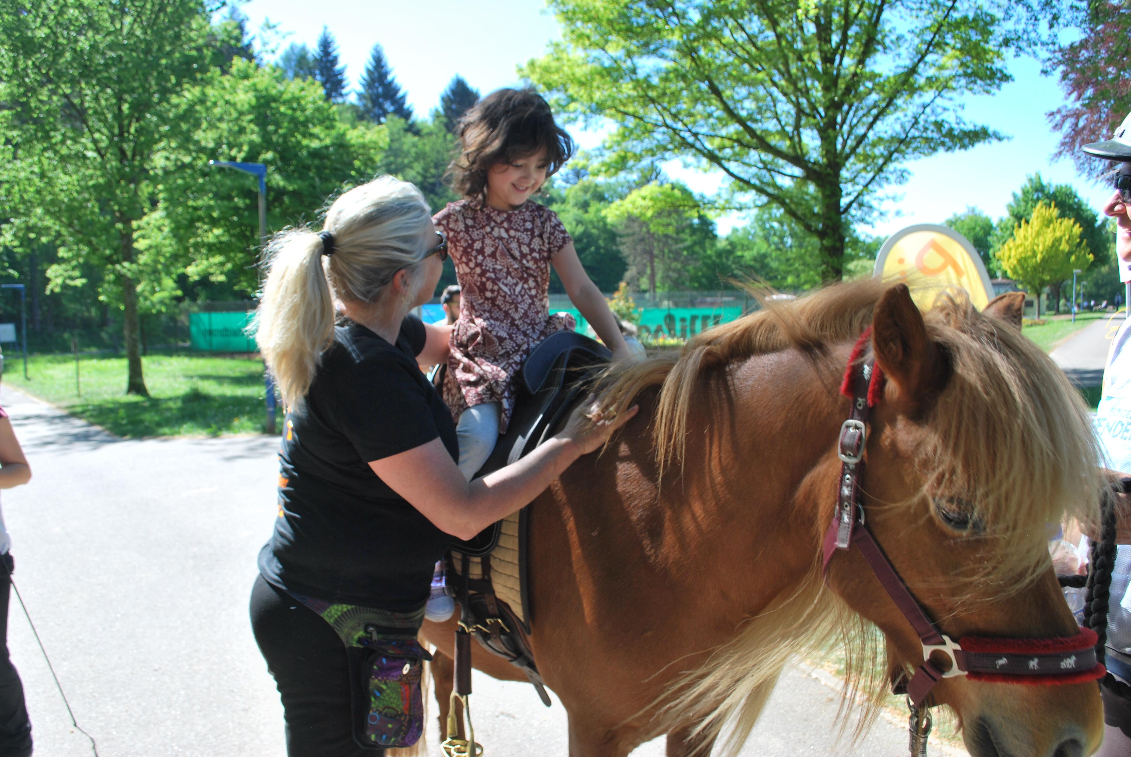 Antje Seeber – Spendenritt Zuschauer – Pferdegestützten Interventionen