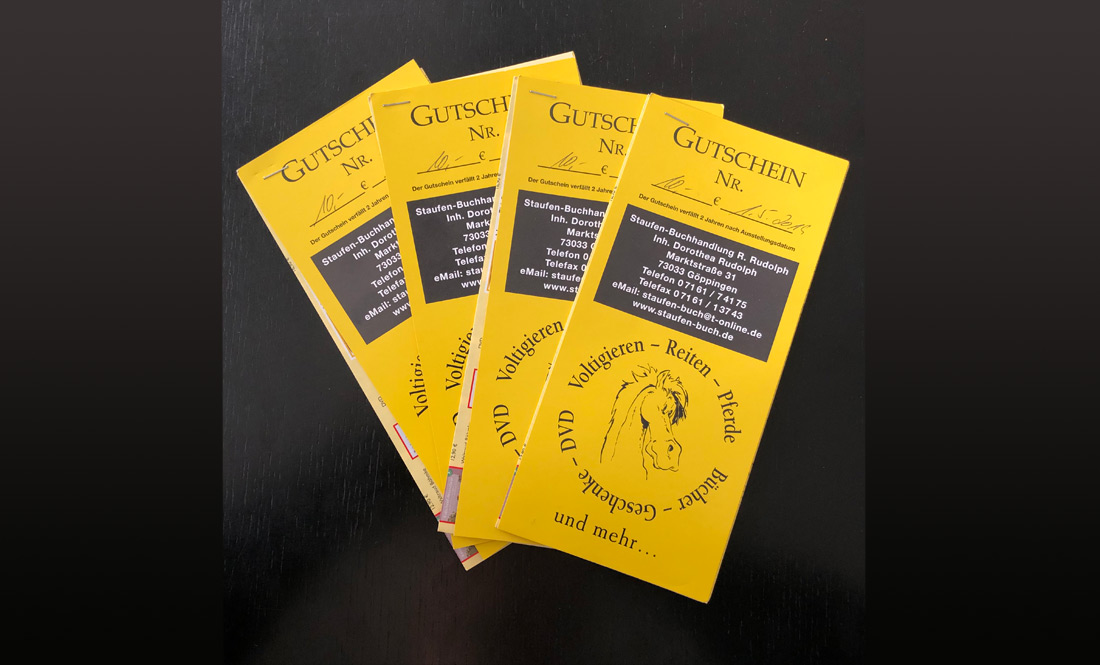 Staufen Buchhandlung Gutschein für 2019