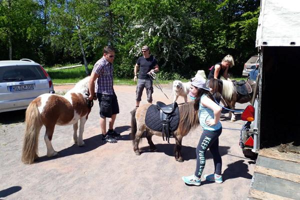 Alftal-Reiter für Leben Erleben Shetty Team