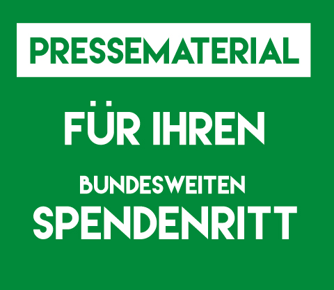 Button Pressematerial Spendenritt
